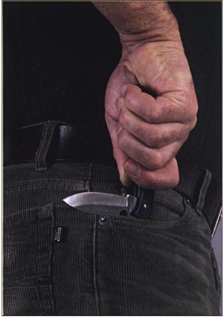 фото схема ножа с торцевым выбросом клинка