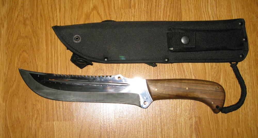 Чехол для ножа из ткани