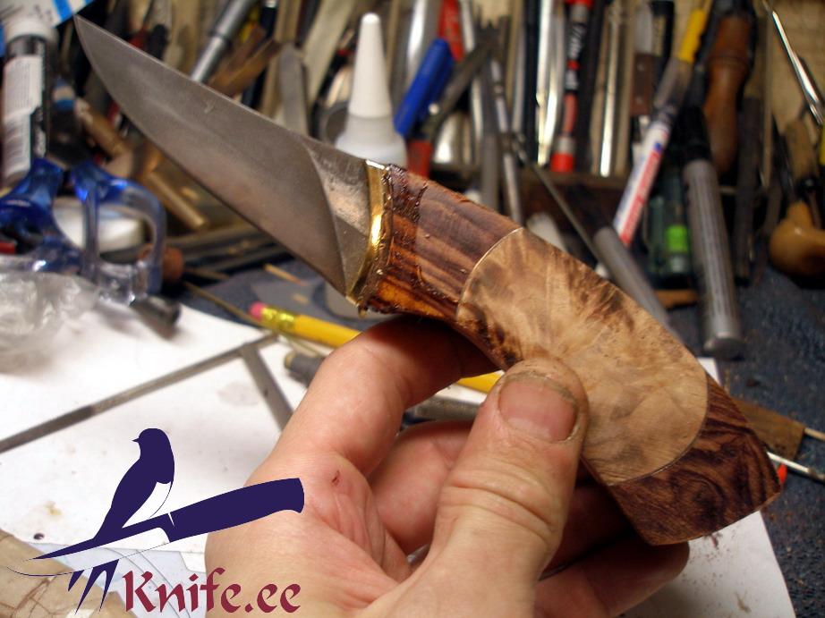 Чем обработать ручку ножа